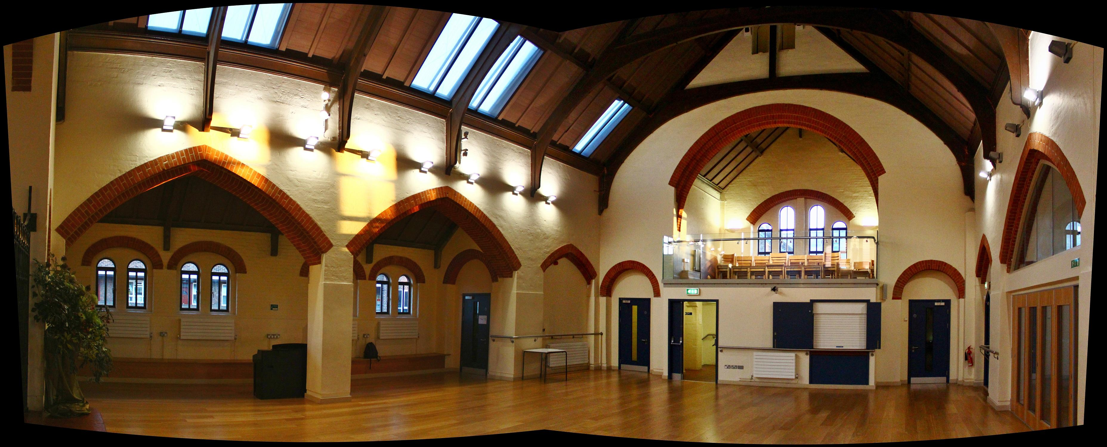 upper hall panorama